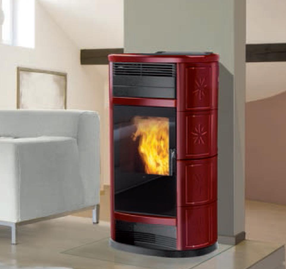 ande termostufe a pellet caldo inverno